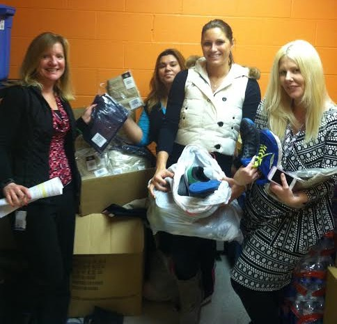 Faxon Clothing Drive
