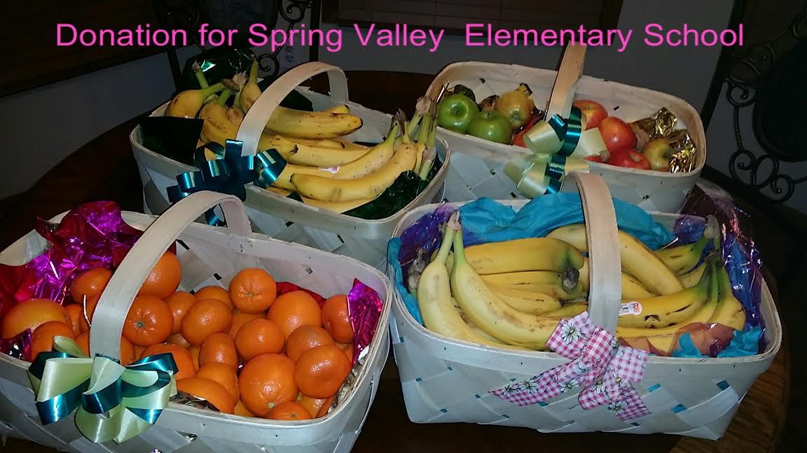 Spring Valley Fruit Donations