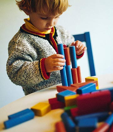 Caring For Kids Schools Playing With Blocks