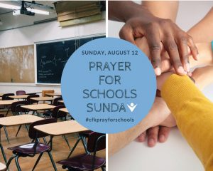 Prayer For Schools Sunday Image
